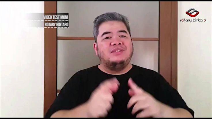 Indra Aziz Testimoni Untuk Rotary Bintaro