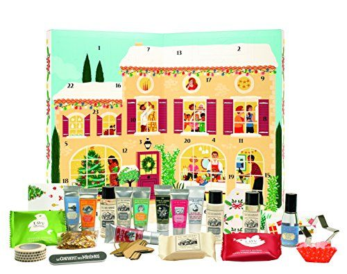 Le Couvent des minimes – Calendrier de l'Avent Coffret Cadeau- 24 surprises: Ornements festifs, chandeliers, faïence colorée ... la…