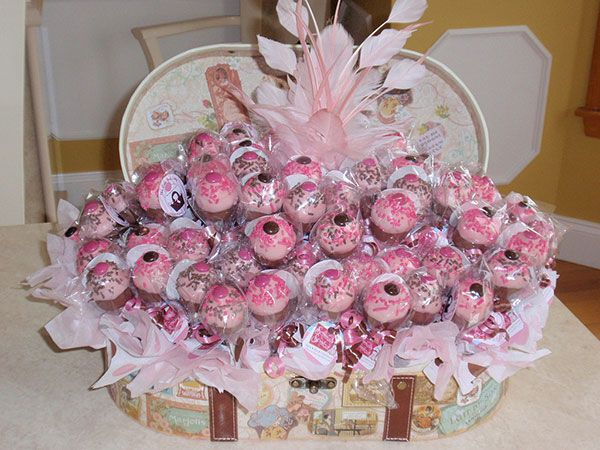 Cake Pop Centerpieces For Baby Shower : 17 Best ideas about Cake Pop Centerpiece on Pinterest ...