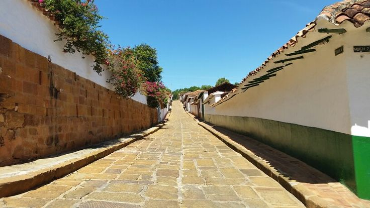 Calle Barichara Santander
