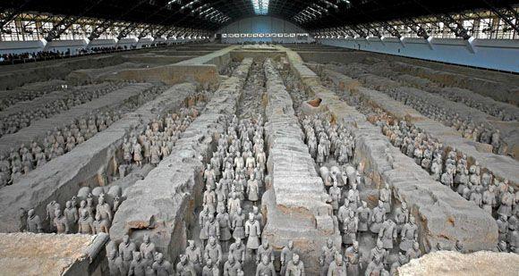 """El ejército chino de soldados de terracota sigue creciendo. En """"La Aventura de la Historia""""."""