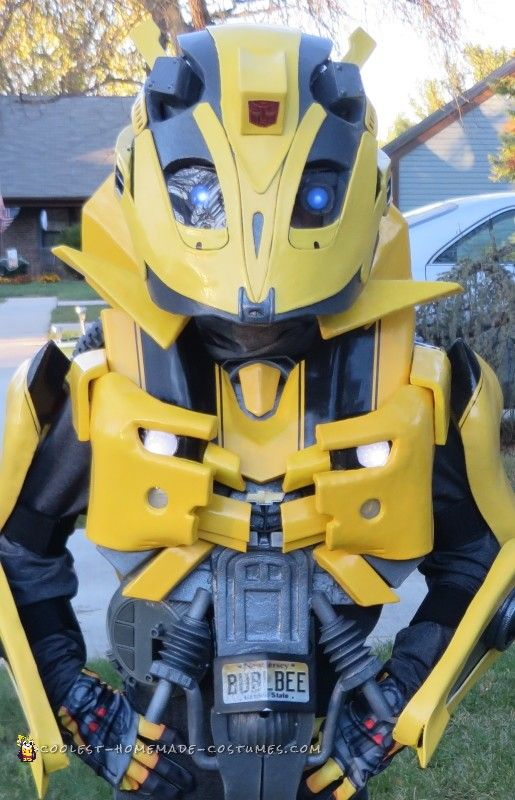 Coolest bumblebee transformer costume