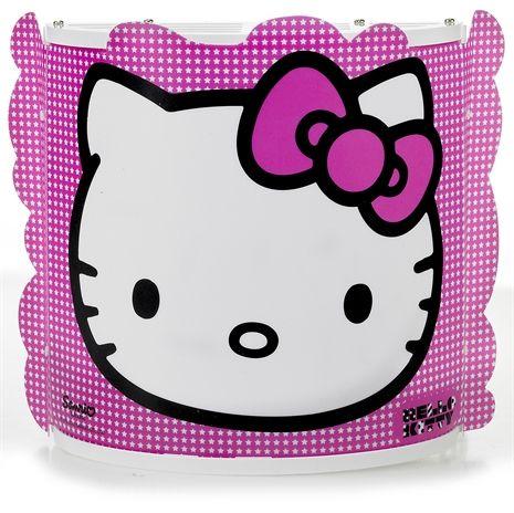 Hello Kitty, Vägglampa, Rosa Vägg- & sänglampor Belysning Barnrum på nätet hos Lekmer.se