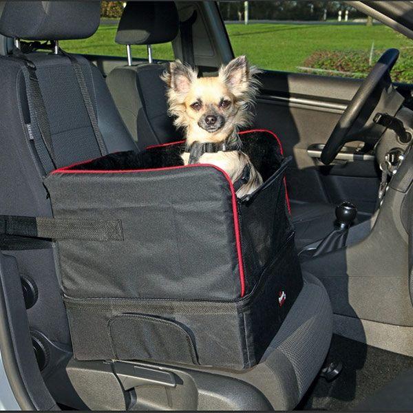 Bilsete til små hunder