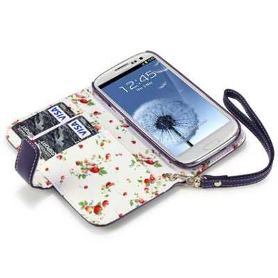 Terrapin Premium PU Leather Wallet Case/Cover/Pouch/Holster with Floral Interior for Samsung Galaxy S3 i9300 - Purple TERRAPIN http://www.amazon.co.uk/dp/B0082AXW64/ref=cm_sw_r_pi_dp_S7gJub1RZCYTK