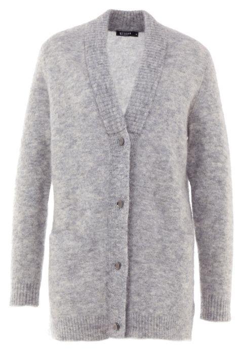 5af4a162f85 ABAS - Cardigan - light grey melange @ Zalando.co.uk 🛒 | Sweaters ...