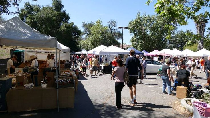 Ojai Certified Farmers' Market located at 300 E. Matilija Street, open Sundays from 9:00 a.m. until 1:00 p.m.