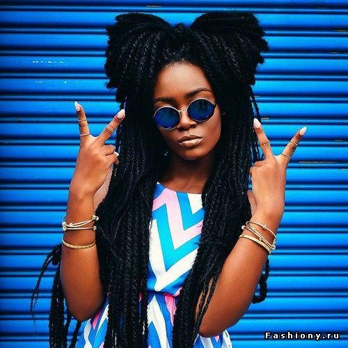 Сенегальские косы. Twist