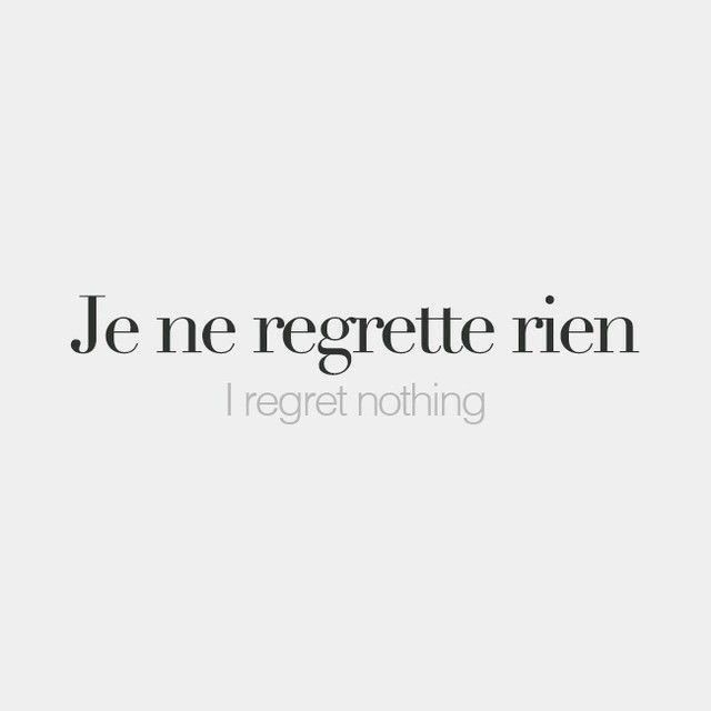 Franch Quotes Live Your Life French Words Quotes French Quotes French Phrases