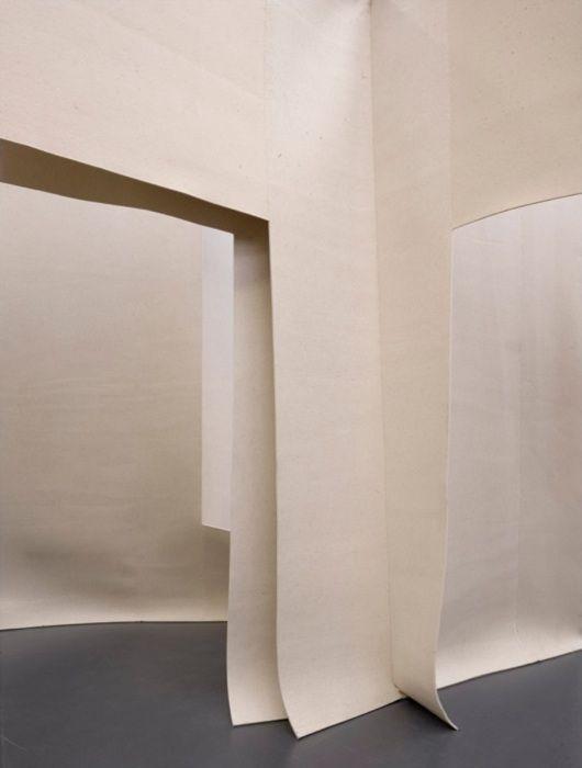 felt pavilion and exhibition, Anne Holtrop