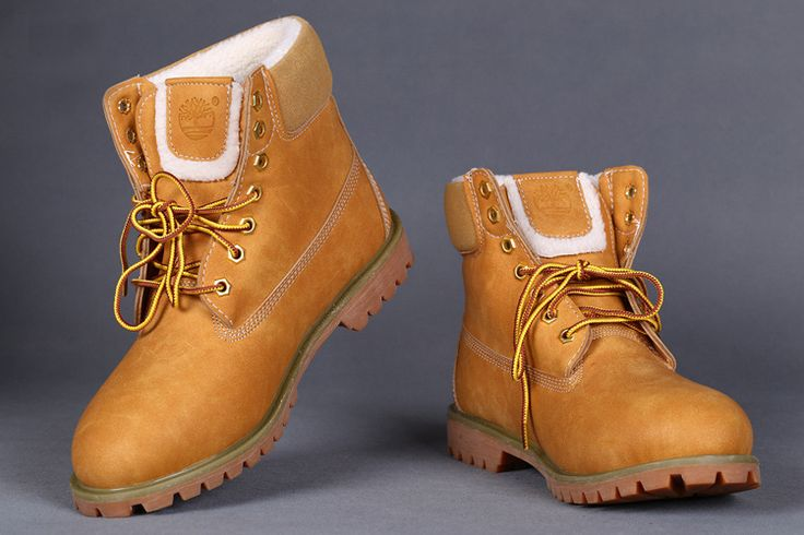 Wheat Timberland 6 Inch Womens Snow Boots