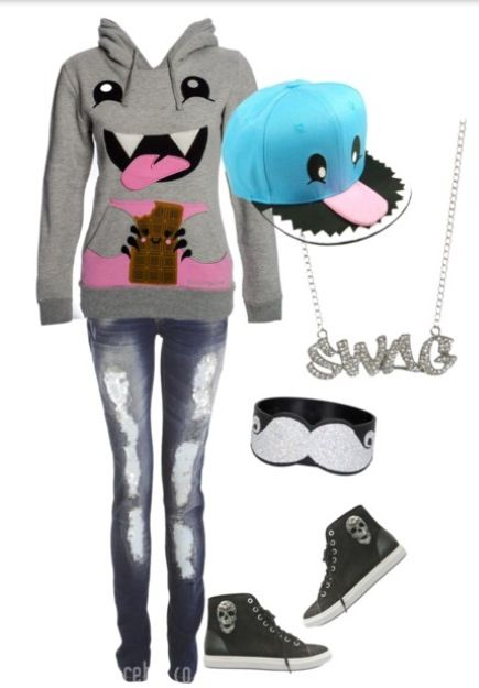 I love everything but the ''Sawg'' necklace. The term Swag needs to die. Swag is actually a wreath. XD