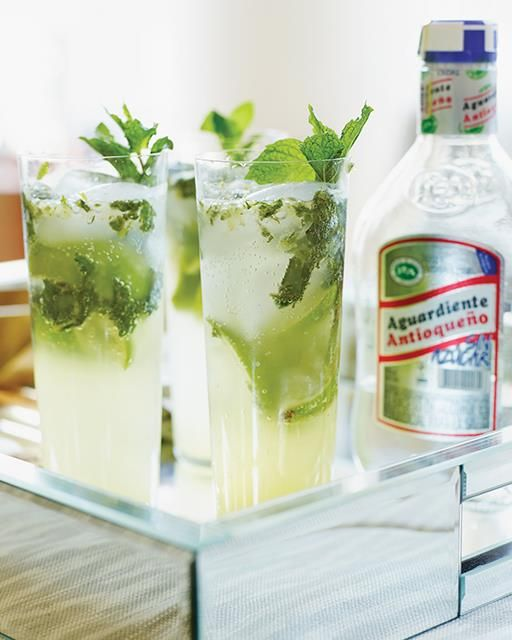 Aguardiente Mojitos