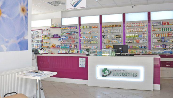 Amenajare farmacia Myosotis Galati - 15 proiecte de amenajare farmacii cu Myosotis. http://www.sertarefarmacii.ro/page/35-continuam-proiectele-de-amenajare-a-farmaciilor-myosotis