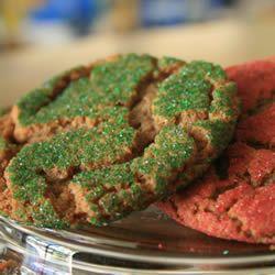 Molasses Sugar Cookies Allrecipes.com