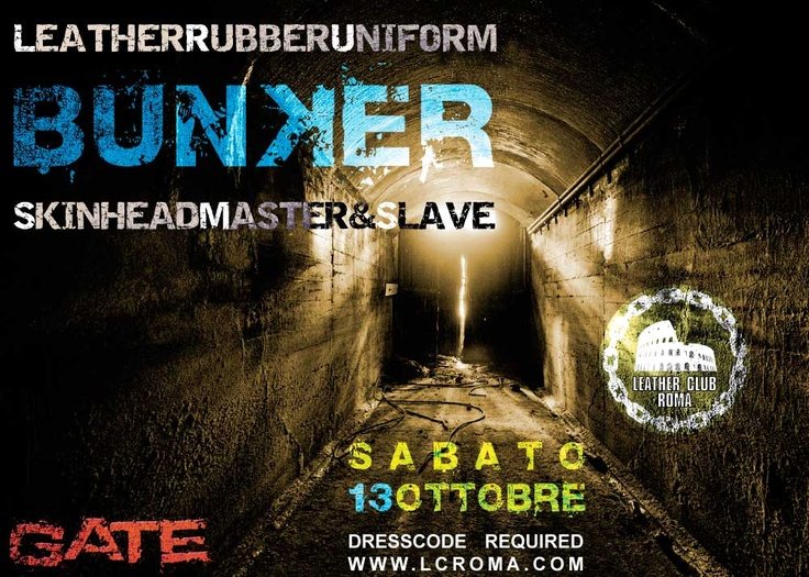 Bunker 2012 - 13th October 2012 - @ Gate - Via Tuscolana 380
