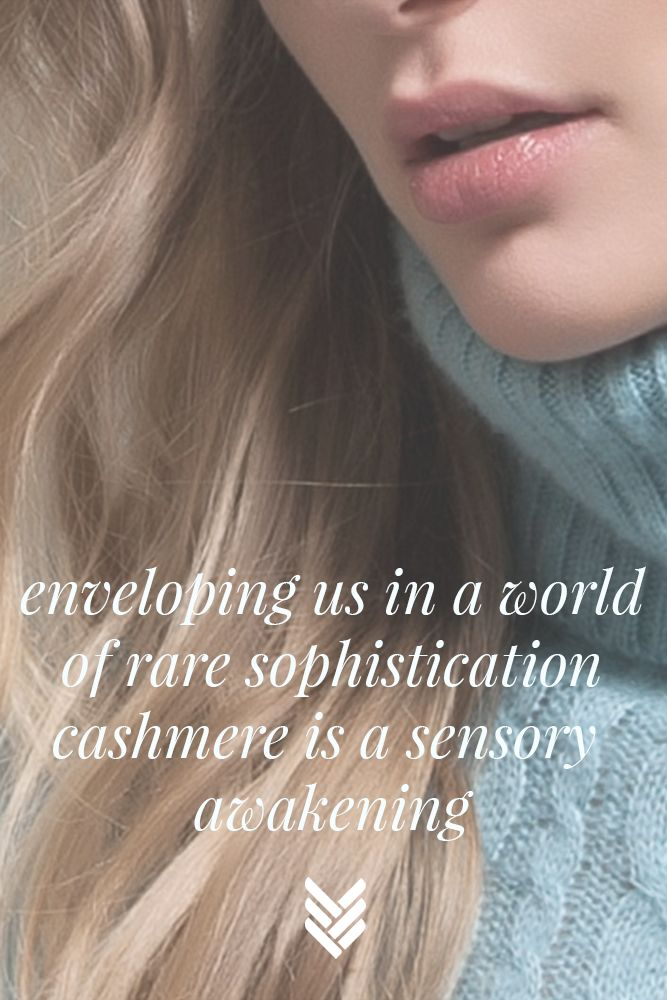 #cashmere is a sensory awakening #maloworld #quotes