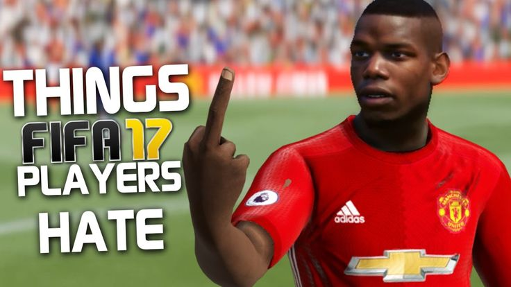 10 THINGS THAT FIFA 17 PLAYERS HATE!!