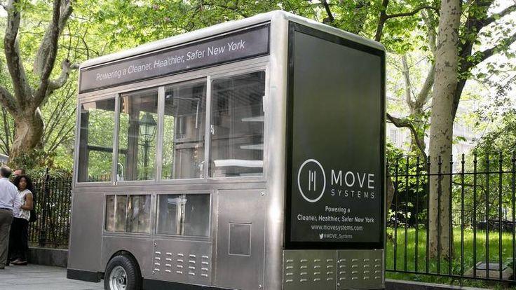 food cart + renewable energy + functional & stylish design = yes please