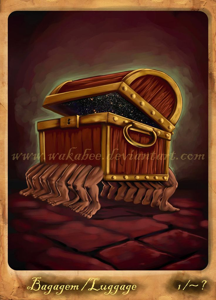 Discworld_bagagem_luggage by *estivador on deviantART