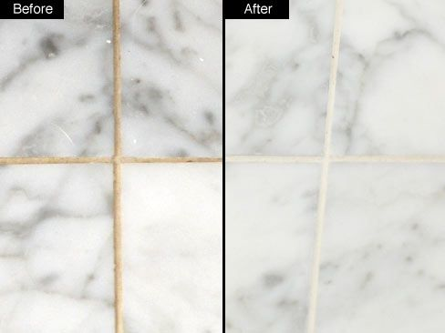 How To Clean Grout   Of Course This Floor Has Large Tiles...I