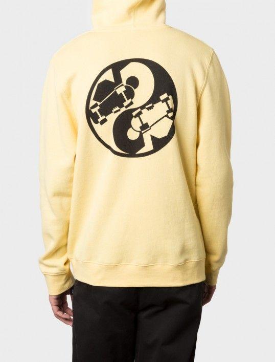 Yin Yang Applique Hood