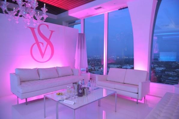 Victoria's Secret party lounge