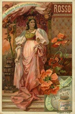 Rosso. Regina e papaveri, 1901