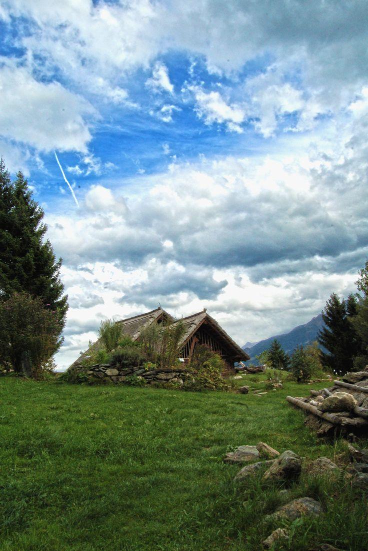 Wo die Kelten siedelten -- where the Celts once settled.