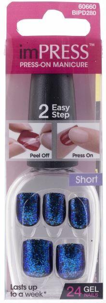 imPRESS Press-On Glitter Manicure by Broadway Nails | Beauty Crazed in Canada