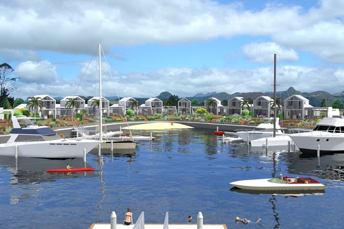 Pauanui Waterways Villas - Image created by Nick Hindson