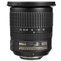 Nikon 10-24mm f/3.5-4.5G ED AF-S DX Nikkor Wide-Angle Zoom Lens for Nikon Digital SLR Cameras