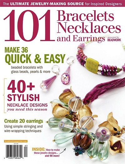158 best beading magazines and books images on pinterest beading 101 bracelets necklaces and earrings 2011 free e book fandeluxe Images