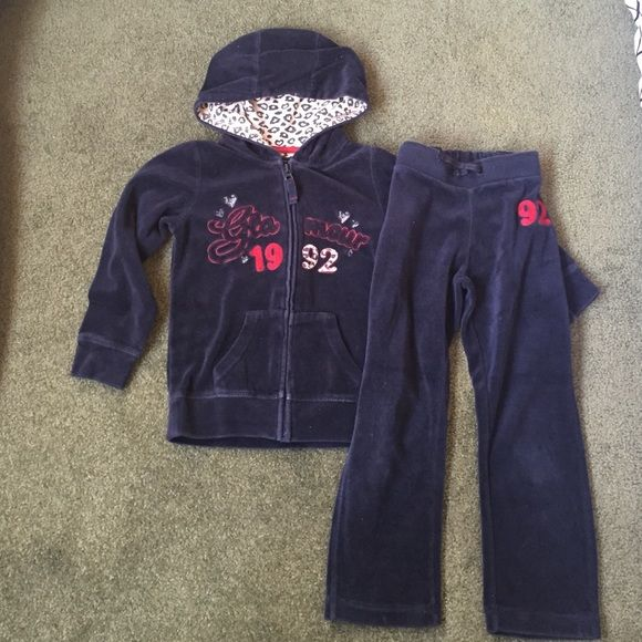 Selling this Pumpkin Patch girl hooded velour tracking suit. on Poshmark! My username is: myl1975. #shopmycloset #poshmark #fashion #shopping #style #forsale #Pumpkin Patch #Other