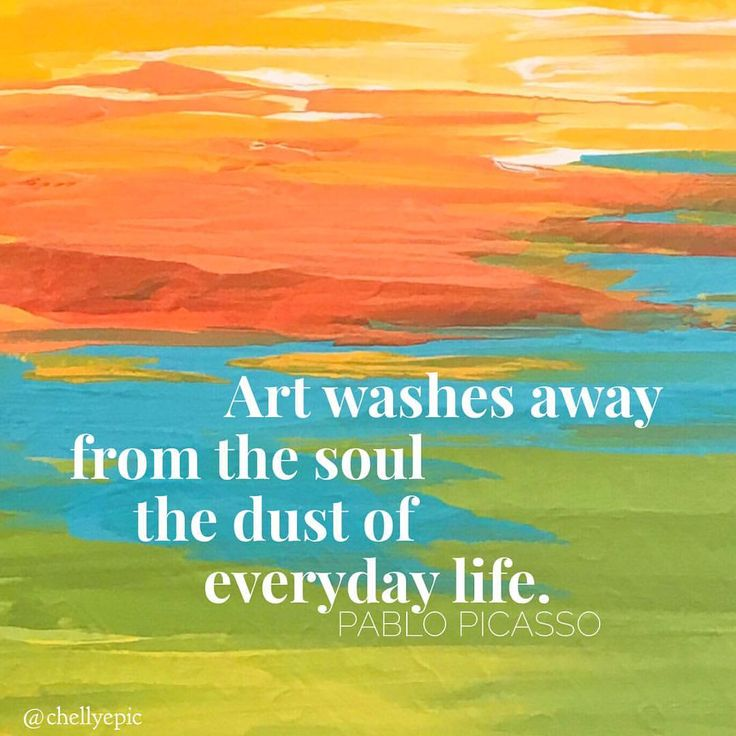 Art washes away from the soul the dust of everyday life.  ~ Pablo Picasso Abstract by @chellyepic
