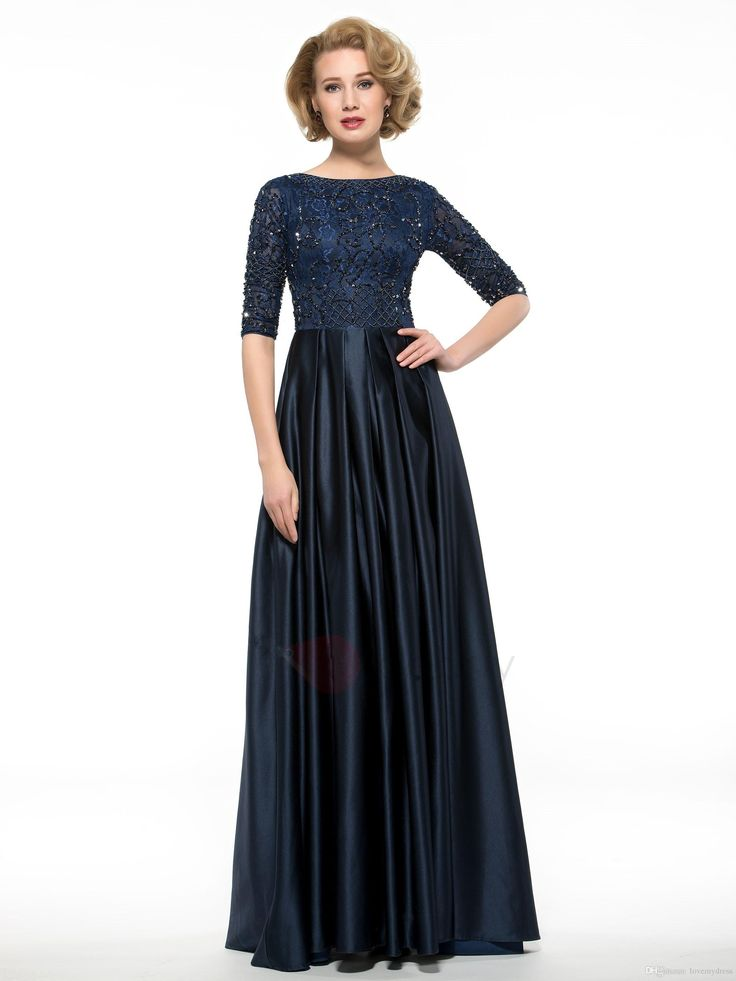 I found some amazing stuff, open it to learn more! Don't wait:https://m.dhgate.com/product/ink-blue-tea-length-dresses-for-mother-lace/270732922.html