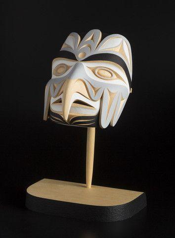 Bird Transforming Mask - John Marston - Yellow Cedar