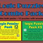 Logic Puzzles are a great way to motivate your students to utilize thier critical thinking and problem-solving skills.  They make perfect center ac...