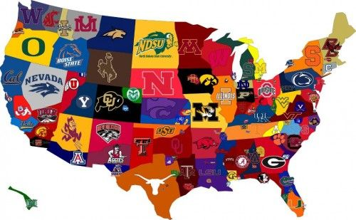 Colleges of America. Not sure that its accurate, but it looks pretty cool.