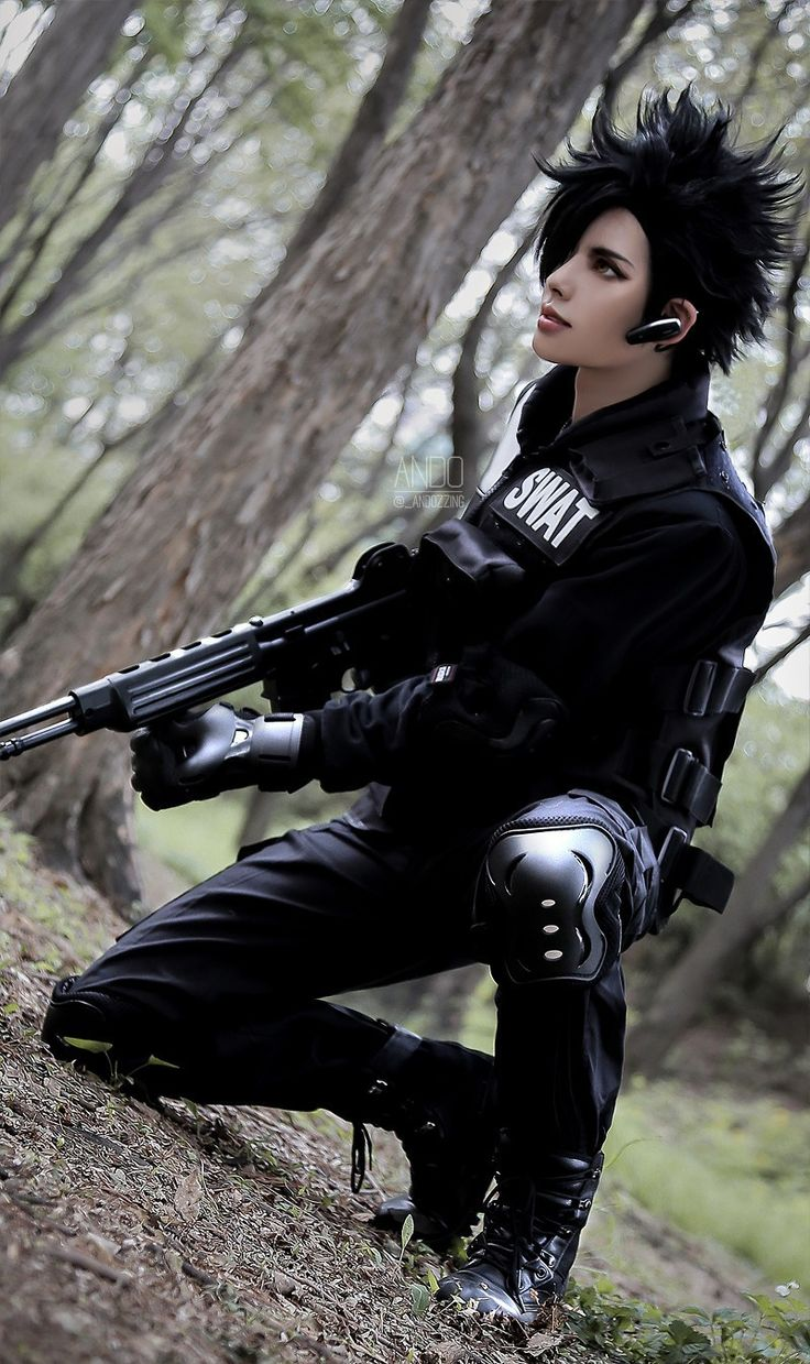 SWAT AU ver. - ANDO(ANDO) Teturo Kuroo Cosplay Photo - Cure WorldCosplay