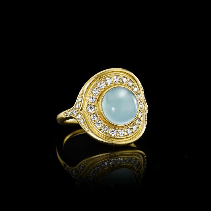Mermaid guld ring - Julie Sandlau Webshop