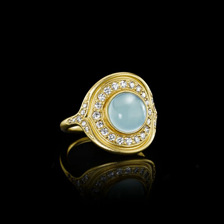Mermaid guld ring - Julie Sandlau Webshop