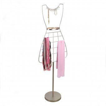 #design3000 Audrey - freistehender Schal- und Schmuckständer.