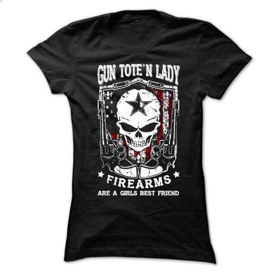Gun Toten Lady - #cool shirts #customized sweatshirts. GET YOURS => https://www.sunfrog.com/Political/Gun-Toten-Lady-Ladies.html?60505