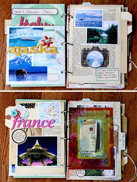 If you can't ever remember to put your pictures in a photo album, maybe it's time to get more creative. These are some creative ways to preserve those precious travel memories!