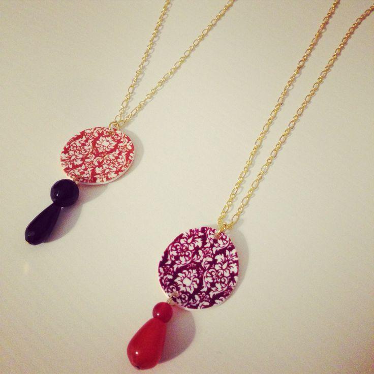 Demodè damask necklace