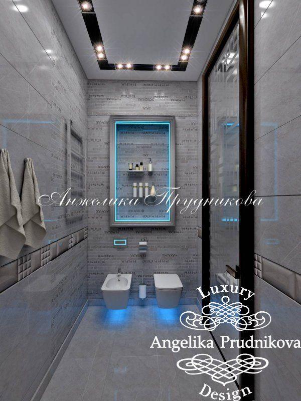 Дизайн загородного дома в КП «Рублёво» - фото