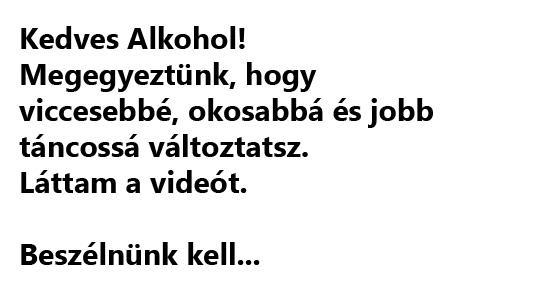 Az alkoholizmus jelei