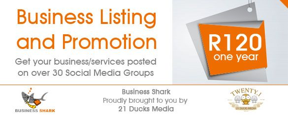 See why we're the most talked about Business Listing Website in just 2 months on air. http://www.businessshark.co.za/