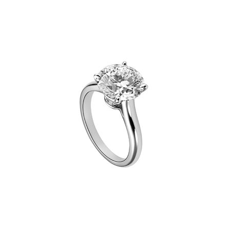 Klassischer Trauring aus Platin mit Diamanten - Cartier Solitaire 1895 Art. N4162900 - Jetzt nachsehen in der Trauringe-Galerie von weddix